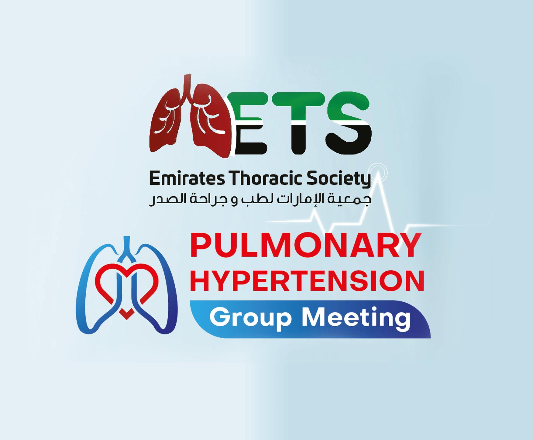 ETS Pulmonary Hypertension Group Meeting